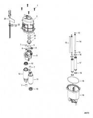 Схема Блок подачи топлива