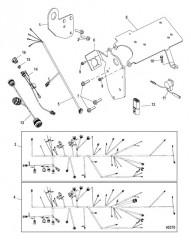 Подъемные кронштейны и электропроводка