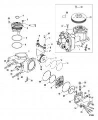 Схема Компоненты воздушного компрессора С/н 1B884881 и выше