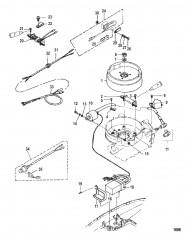 Схема Magneto и компоненты системы зажигания