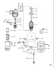 Схема Стартер (Delco Remy №1998317)