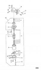 ЭЛЕКТРИЧЕСКИЙ ПУСК ДВИГАТЕЛЯ (E-251105/EL-552120 и ниже)