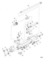 Цилиндр рулевого механизма в сборе (898349A14)