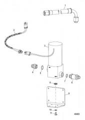 Схема Топливный насос (выносной)