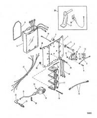 Схема Катушка зажигания/регулятор напряжения