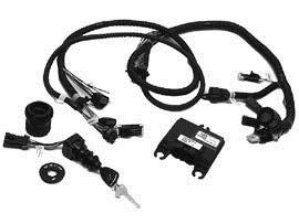 Комплект блока управления DTS (блок ДУ на панели, педаль газа)