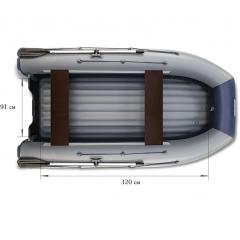 Двухкорпусная лодка ФЛАГМАН - DK 380