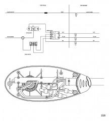 Схема электрических подключений (Конструкция II – не облегченная версия модели BD1236)