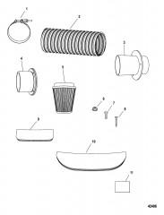 Комплект погружной трубы 350 (Verado)