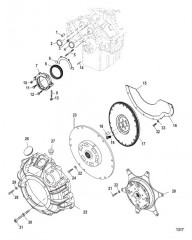 Схема Cylinder Block Flywheel Housing