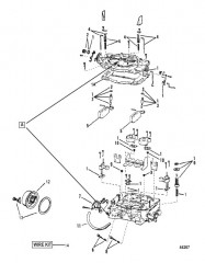 Схема КАРБЮРАТОР (WEBER)