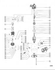 Схема СТАРТЕР В СБОРЕ (DELCO REMY 1109484/85/88/90)