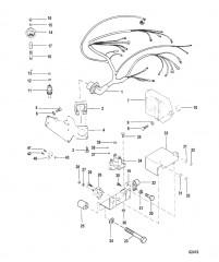 Схема Электропроводка и электрические компоненты