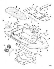 Схема Надувные лодки QS (230)