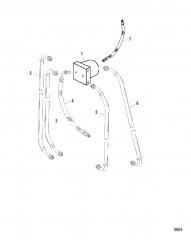 Блок соединителя и гидравлические шланги (Мокрый и сухой поддон)