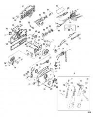Схема Компоненты дистанционного управления