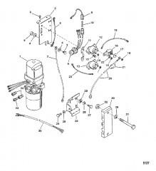 Гидравлический насос и кронштейны