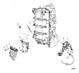 Схема Монтаж блока подачи топлива
