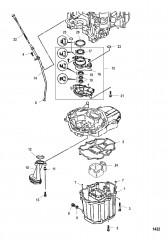 Схема Маслосборник
