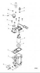 Схема Блок подачи топлива Охлажденное топливо