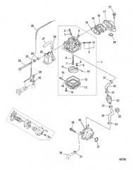 Схема Карбюратор и топливная система