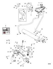 Схема Бак для смазки привода в сборе