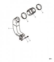 Схема Выхлопная труба