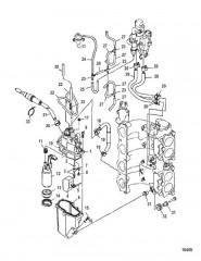 Схема Насос для впрыска топлива