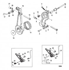 Throttle Lever and Linkage