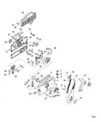 Схема Боковой блок ДУ 4000