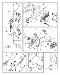 Схема Стандартная система охлаждения Шланги насоса забортной воды