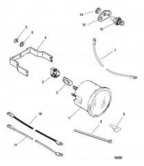 Датчик и крепеж Температура воды (100-240 F)