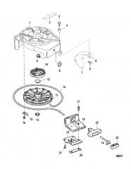 Starter Rewind Components
