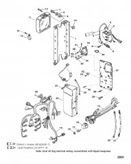 ЭЛЕКТРОСИСТЕМА (SEAPRO/MARATHON, С/Н 0G303045 И НИЖЕ