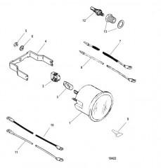 Датчик и крепеж Температура воды (60-200 F)