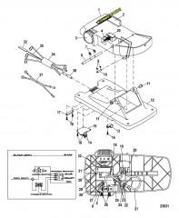 Ножная педаль в сборе (M899721T)