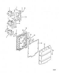 Схема Карбюратор и пластина аттенюатора