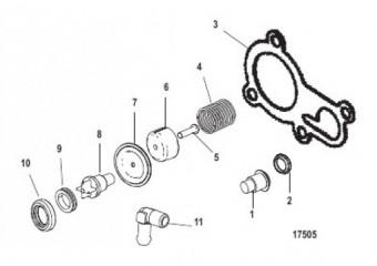 Комплект термостата (14586A 4)