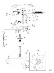 Двигатель для тралового лова в сборе (Модель FW70HBD – BASS) (24 В)