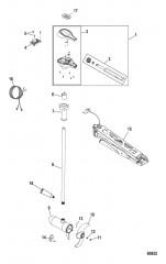 Схема Двигатель для тралового лова в сборе Ручное управление, регулируемая скорость