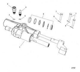 Цилиндр рулевого управления Гидроусилитель