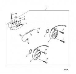 Электрические компоненты (Mercathode) NXT1