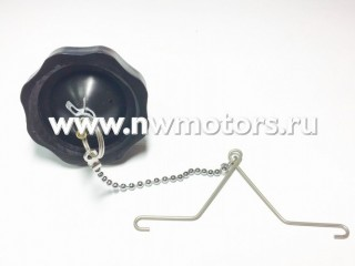 Крышка топливного бака mercury 2.5/3.5/4/5/6 для 4х тактных моторов