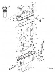 Схема Компоненты паросепаратора