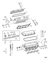 Компоненты двигателя (Головка цилиндра)