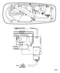 Схема электрических подключений (Модель L52ES / AG52ES) (12 В)