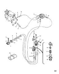 Топливопроводы и фильтр