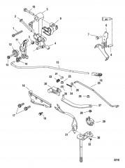 Рычажный механизм (Рукоятка)(длинная)