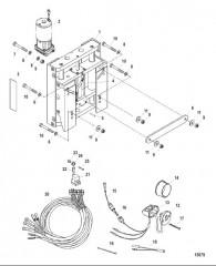 Комплект плиты гидравлического домкрата (881135K1)