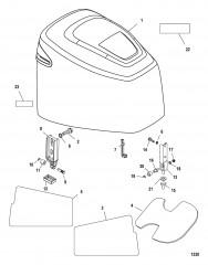 Схема Верхний кожух